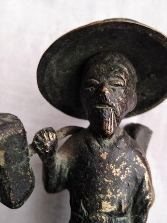 Стара китайска фигура, бронз