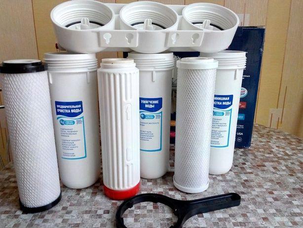 Фильтры для воды. Замена фильтра для Аквафор, Гейзер, AURA, HUBERT