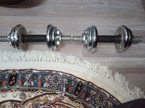 Гантели 2 шт по 2,75 кг