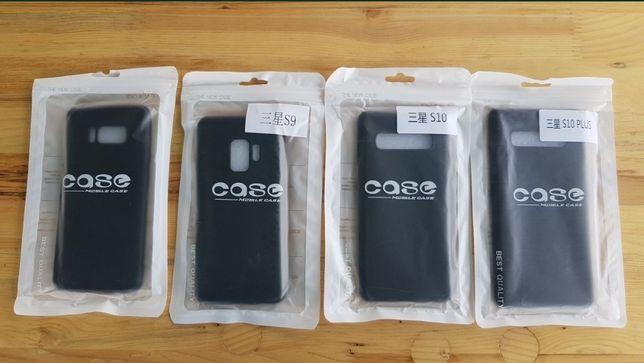 Husa silicon catifea Samsung Galaxy S8 S9 S10 S10+ S10 Plus