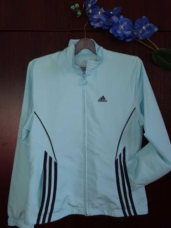 Adidas дамско синьо пролетно яке, adidas сива тениска