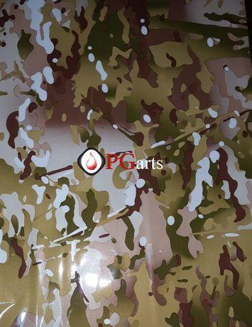 Фолио за хидрографика Camoflage green 100