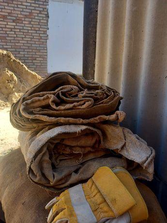 Мешки для исползование капроновые. Кенеп қаптар