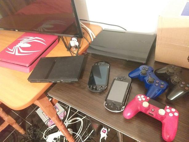 Modare PS2, PSP, PSVITA, PS3, PS4