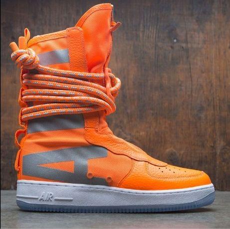 Vand nike air force 1 high sf orange