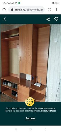 Шкаф для прихожей комнаты