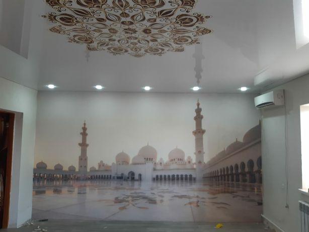 Натяжные потолоки 1200