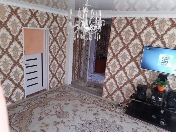Продается хороший дом в Текелях, с ремонтом, с баняй.