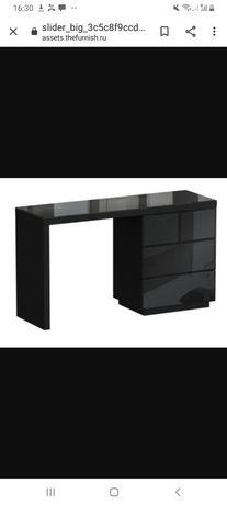 Туалетный столик черное стекло срочно!!!