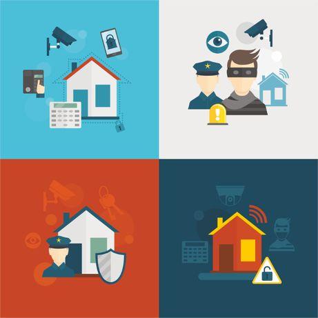 Охранная сигнализация для квартиры, дома: монтаж и подключение к КУЗЕТ