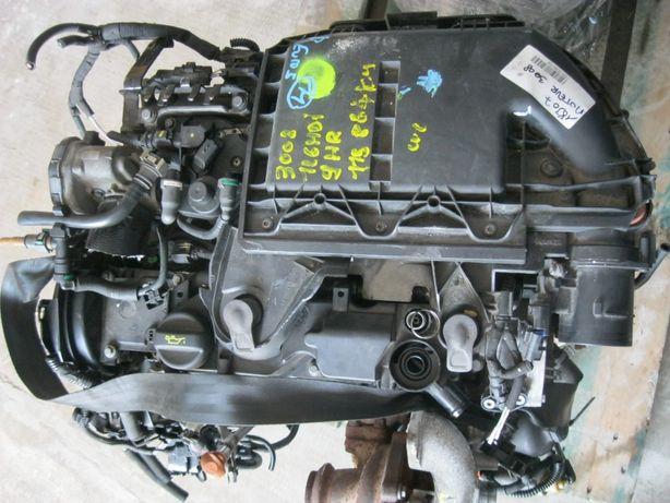 Motor COMPLET 1,6IHDI/9HR 112CpEu5Peugeot3008-115864km,InjSIEMENS,2013