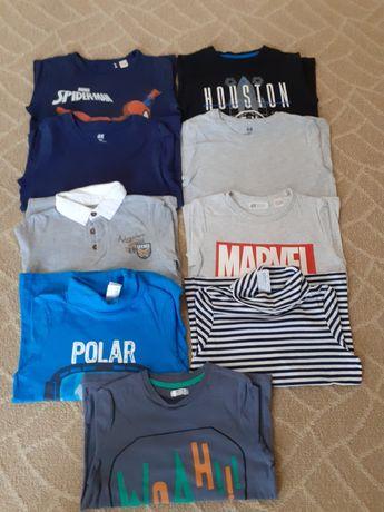 Lot haine baieți 128