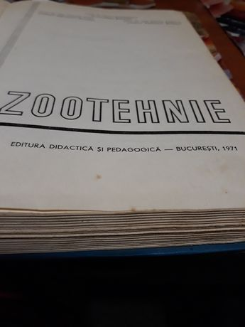 zootehnie 1971 carte ptr fermieri