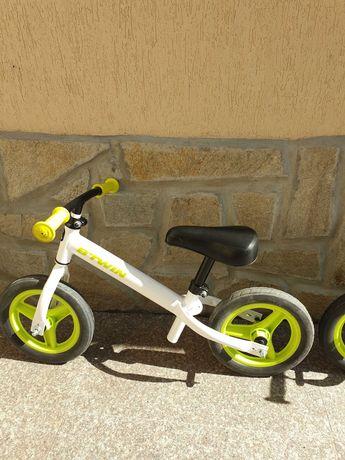 Намалени детски велосипеда без педали.10 инча,бял BTWIN