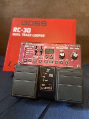 Boss RC - 30 dual track looper лупер