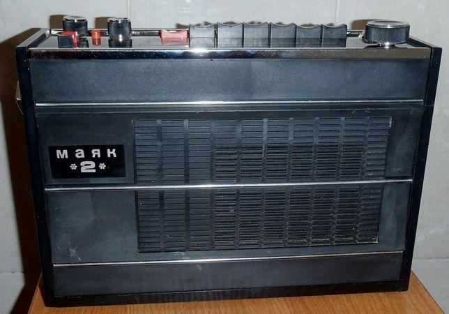 Раритетный радиоприемник Маяк 2 в отличном состоянии