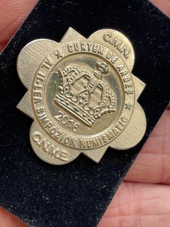 Insigne Medalii C.de Arges simpozion numismatic 2015-16
