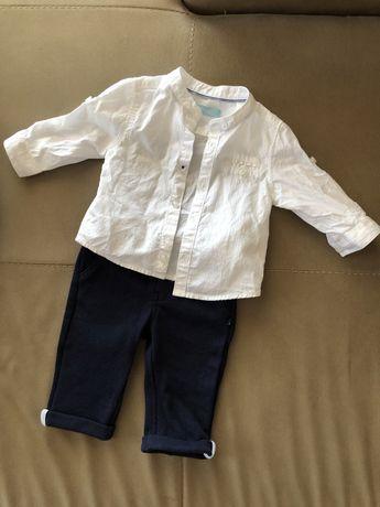 Риза и панталон за бебе