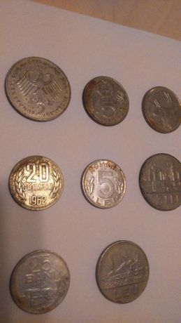 Monede vechi 10 lei orientativ