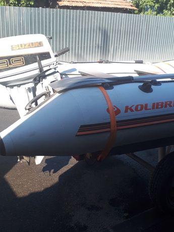 Barca Kolibri si motor Suzuki 9.9dt