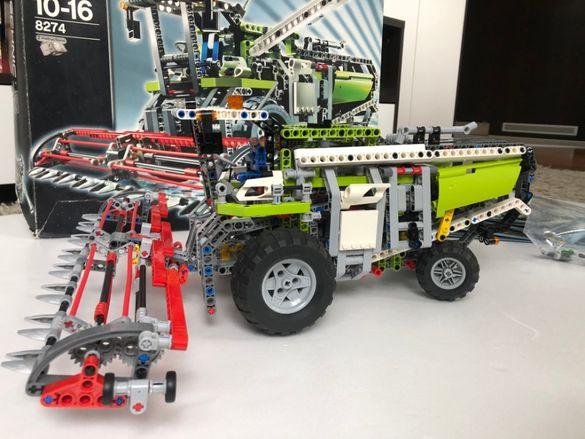 Продавам LEGO Technic 8274 с двигател