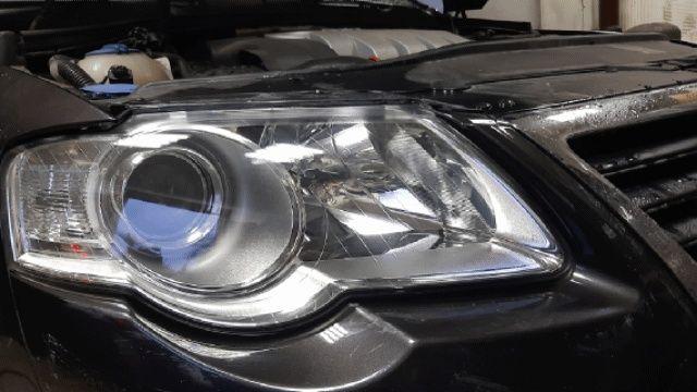 Polish faruri auto