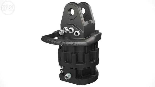 Rotator hidraulic 10 tone (CR-1000FW) cu flansa pentru graifer