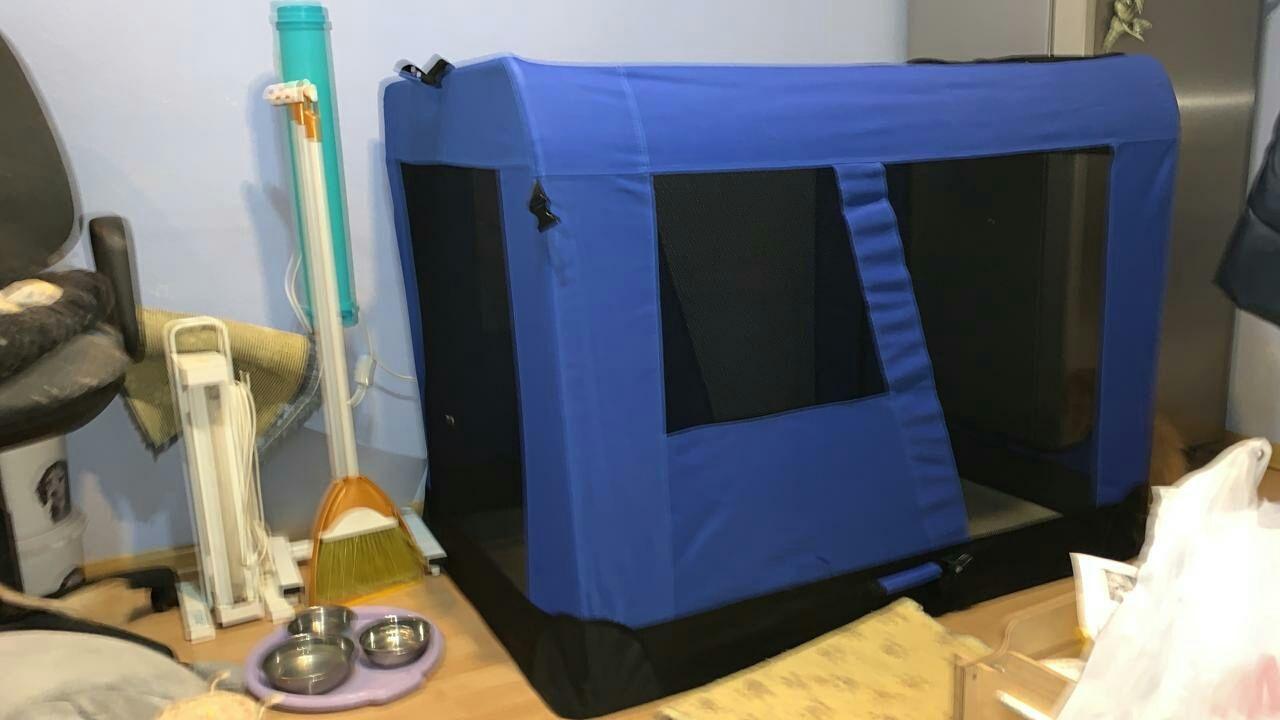 Продам выставочные палатки для собак большого размера и для кошек