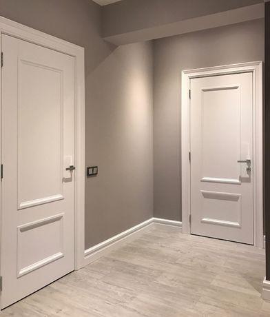 Установка деревянных дверей и наружной