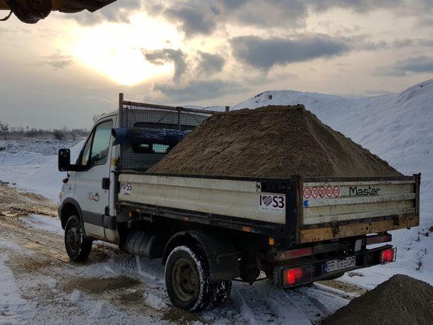 Transport Marfa Nisip Piatra Lemne