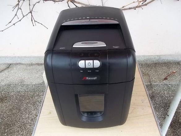 Машина за унищожаване на документи рязане на листове хартия шредер REX