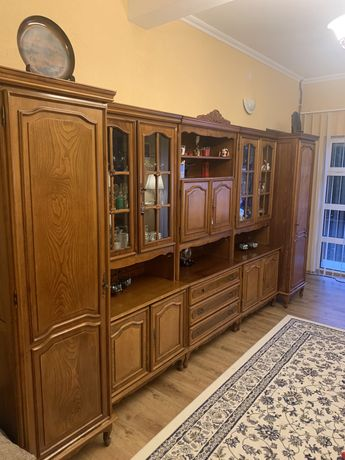 Mobila sufragerie din lemn masiv