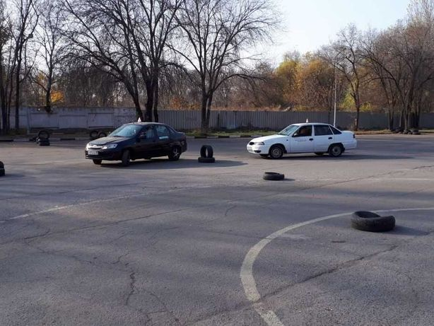 Автодром Алматы, курсы вождения с инструктором