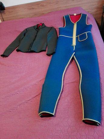 Costum neopren, din două piese