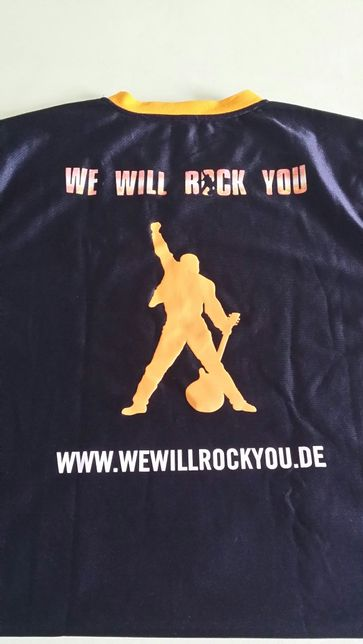 Tricou We Will Rock You Aniversar