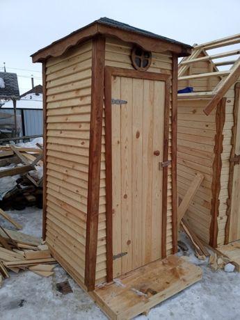 Дачный туалет изготовление, монтаж. Работаем в кредит
