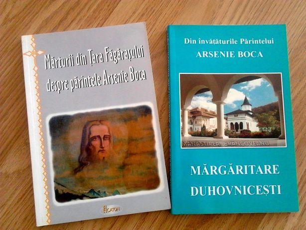 2 carti despre Parintele Arsenie Boca, 10 lei/buc