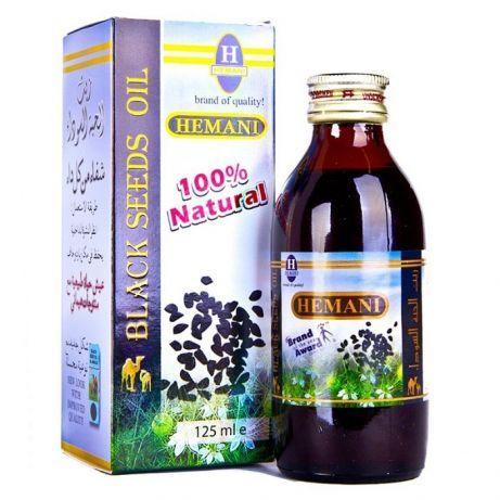 100% Натурално масло от черен кимион Hemani -Течното злато на фараонит
