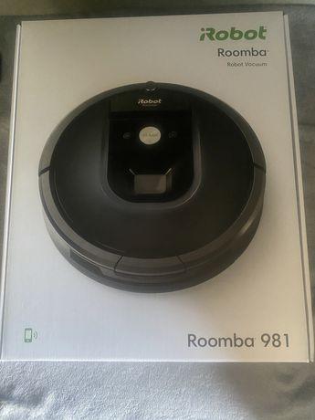 Robot de aspirare Roomba 981 iAdapt 2.0 si WiFi, Navigatie iAdapt, Dir