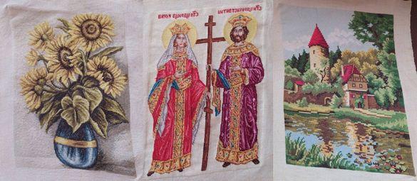 Горски замък,Слънчогледи,Икона Св. Св. Константин и Елена