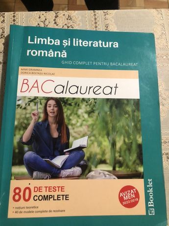 Carte de limba si literatura romana pt bac !!!