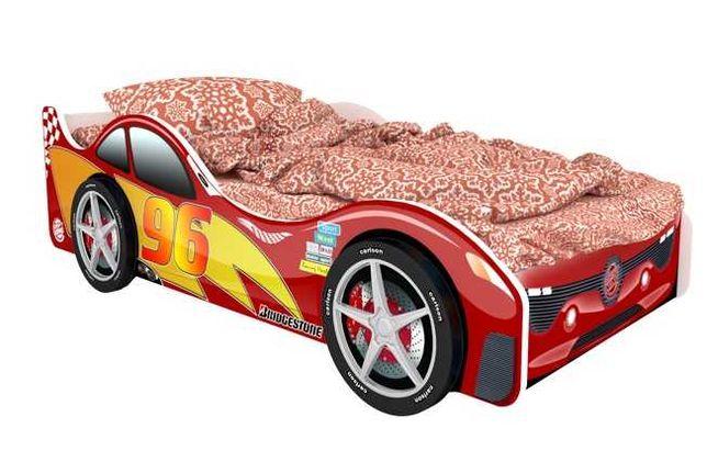Детская кровать машина Маквин