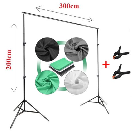 Kit fundal foto video, suport fundal, Panza fundal sau green screen
