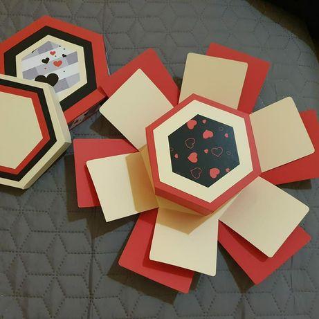 Explosion box modele unicat hand made