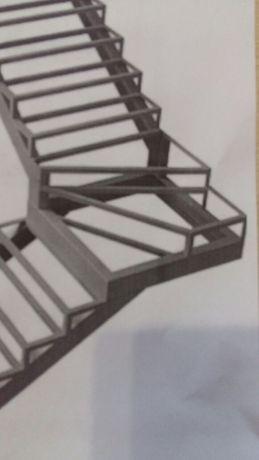 Лестницы из металла в Костанае