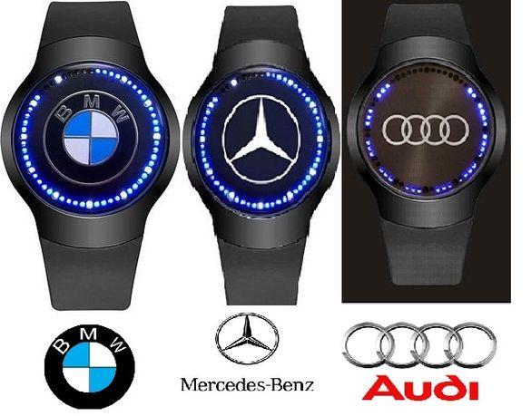 LED часовници BMW, Mercedes, Audi