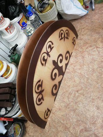 Продам столы круглые казахские