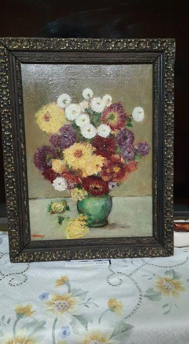 Tablou Vaza cu Flori Stefanesti - imagine 1