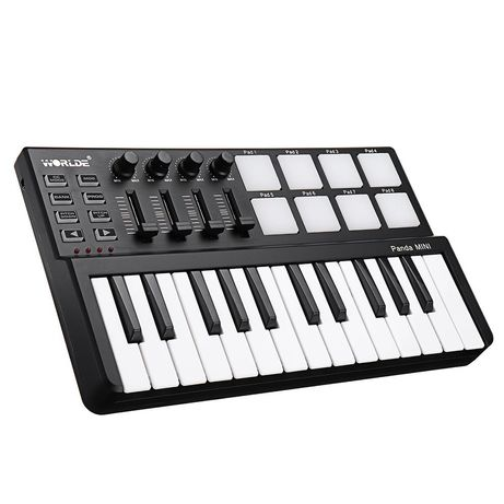 MIDI клавиатуры и контроллера WORLDE Panda Mini