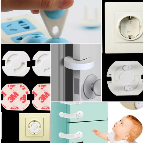 10 БР.Предпазители за шкаф/Различни защити за деца